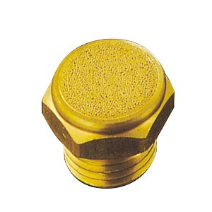 (10)Brass Silencer/Muffler-2