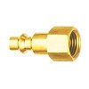 (04)AMERICAN QUICK COUPLER(FEMALE/FEMALE)-BRASS